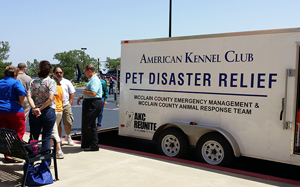 AKC Pet Disaster Relief Rolls Out Help for Oklahoma